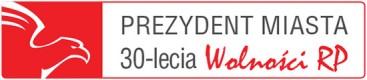 logo prezydent miasta 30lecia